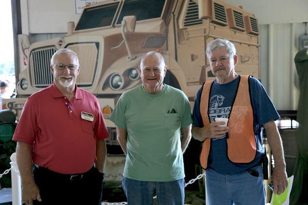 Carolina Auto Auction dealers (left to right) Bill Slager from AutoBank and Bob Mendell joined...