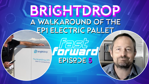 A Walkaround of the BrightDrop EP1 Pallet