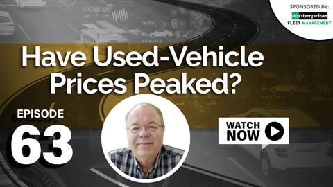 Have Used-Vehicle Prices Peaked?