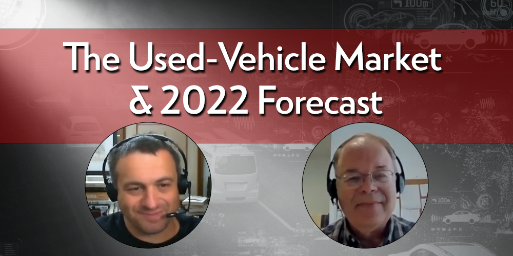 State of the Used-Vehicle Market and 2022 Forecast