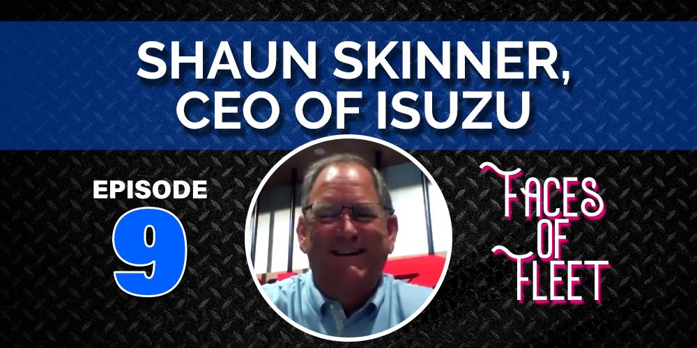 Faces of Fleet: Shaun Skinner of Isuzu Fires Off