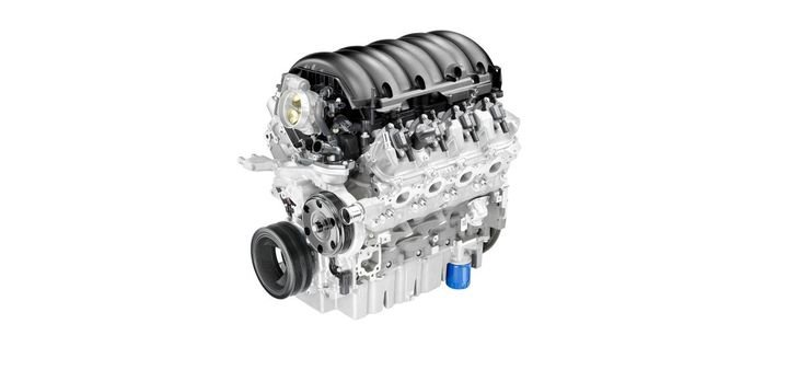 The all-new 6.6L gas engines for the Chevrolet Silverado HD feature direct-injection technology. - Photo: General Motors