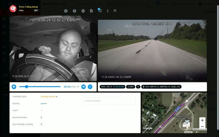 It's important drivers understand how video telematics is benefiting him or her, in some cases even helping people who didn't realize they had medical issues.  - Photo: FleetCam