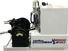 American Eagle expanded its LubeMate line of lube skids with its new aluminum lube skid....