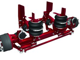 The next generation of steerable lift-axle suspension systems from Hendrickson is engineered for...