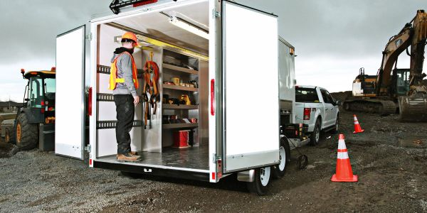 EZ STAK optimizes mobile workspaces for 12- to 53-foot trailers. Whether you need interior...