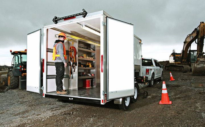 EZ STAK Turneykey 12' Trailer - Photo: EZ STAK