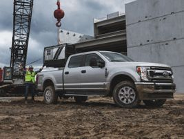 An all-new 7.3L V-8 joins the standard 6.2L V-8 in Ford's 2020 F-Series Super Duty gas engine...