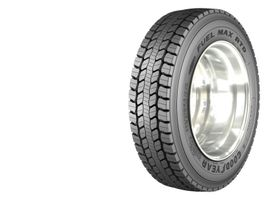 The Goodyear Fuel Max RTD ULT tire is an open shoulder 19.5-inch drive tire. Balancing mileage,...