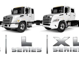 Hino has unified its entire lineup of trucks, including model names. It also launched its new M...