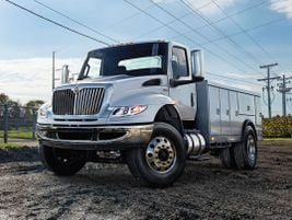Launched in 2018, the Class 6/7 International MV Series redesigned features include new cab...