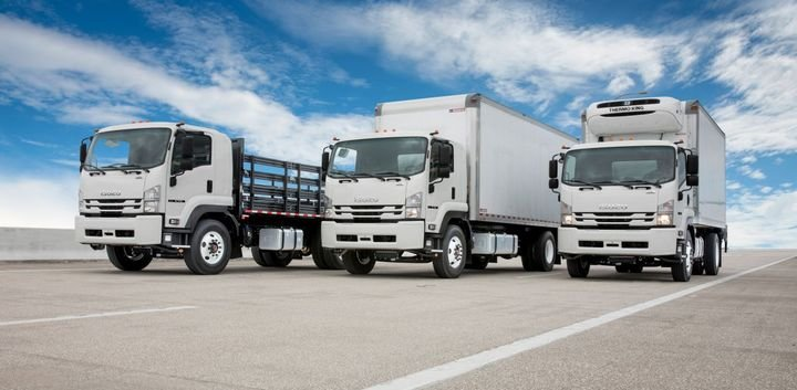 Isuzu FTR Family - Photo: Isuzu Commercial Truck of America
