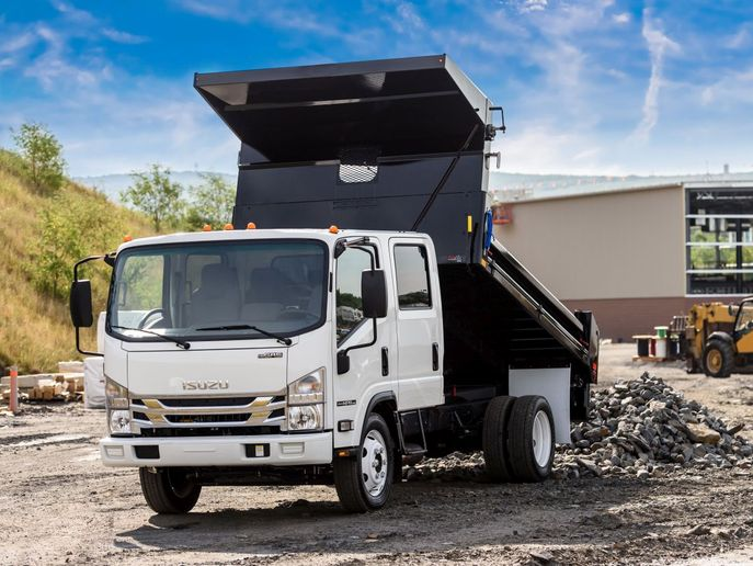 Isuzu NPR - Photo: Isuzu Commercial Truck of America