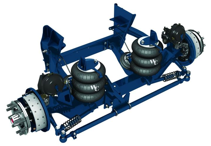 SK13K Steerable Lift Axle - Photo: Hendrickson International