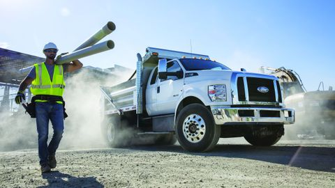 When looking at whether gasoline or diesel is the best option for your fleet, Ford noted that...