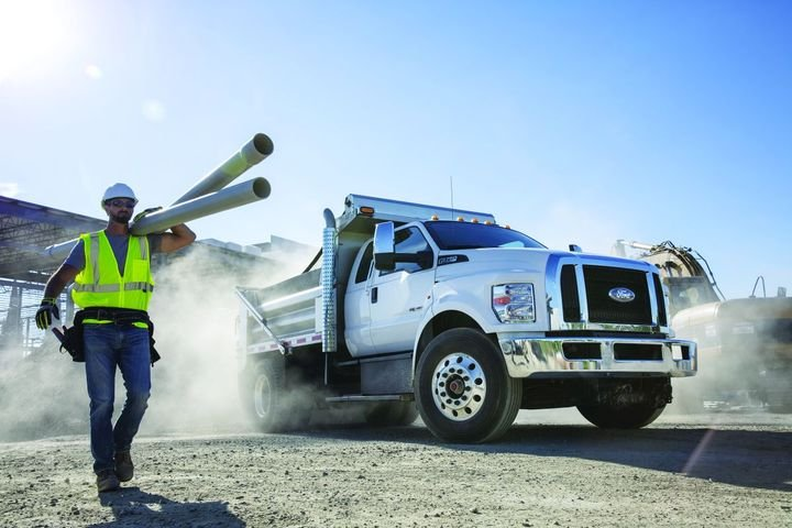 When looking at whether gasoline or diesel is the best option for your fleet, Ford noted that maintenance for diesel models can be more costly, specialized, and complex. - Photo: Ford Motor Co.