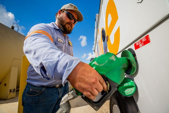 The cost of fuel is one of the most significant operating expenses for mobile service truck fleets, in some cases comprising more than half of the budget. Fleets of all types and sizes can reap the benefits when they choose solutions and technologies that reduce fuel usage. - Photo: Miller Electric