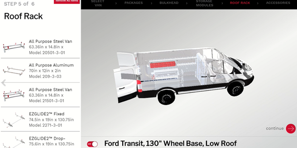 3D Configuring Helps Fleets Build the Ideal Work Van