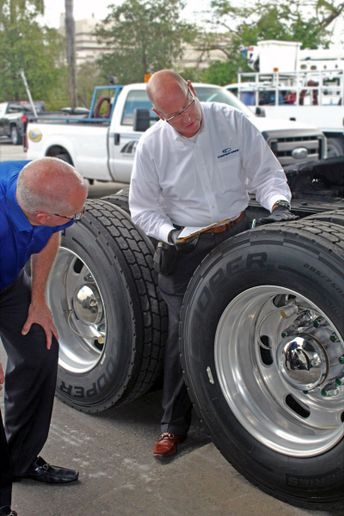 The most cost-effective tire programs come from matching the right tire to the proper application at the correct inflation pressure. - Photo: Cooper Tire