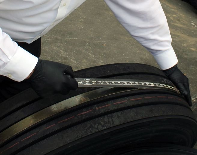 While operations vary significantly, running tires that are just 10% underinflated may cause you to remove them from service 10% early. - Photo: Cooper Tire