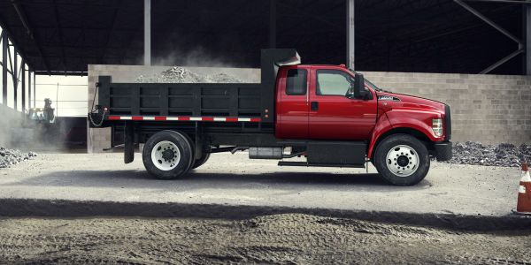 The current model-year 2021 F-650 and F-750 trucks are available with a choice of the...