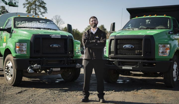 Eric Jahnsen, CTP, director, Transportation Fleet for Sunbelt Rentals, Inc., uses approximately 600 Ford F-650 trucks upfit for a variety of uses from rental to delivery. - Photo: Sunbelt Rentals