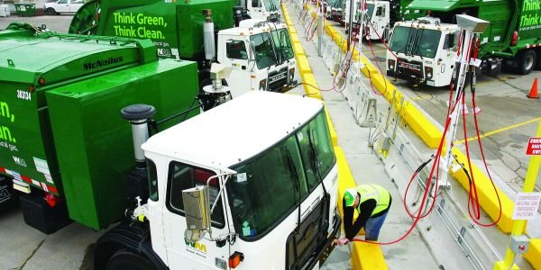 Waste Management operates the largest heavy-duty natural gas truck fleet of its kind in North...
