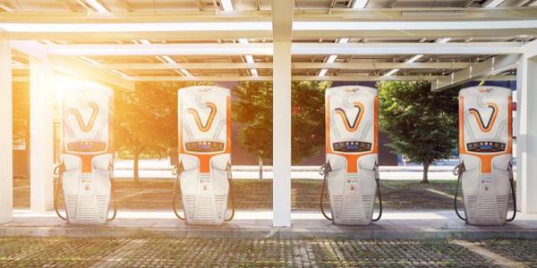 Gilbarco Veeder-Root Veefil-RT electric charging stations.