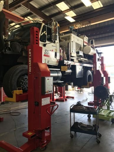 Understanding your lift options, properly selecting your lift, and  ensuring appropriate maintenance is essential to lift safety. - Photo: Rotary Lift