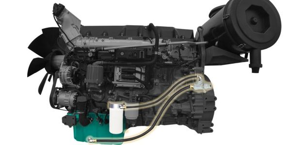 Parker Hannifin's three-step QuickFit Oil Change System incorporates an easily accessible,...