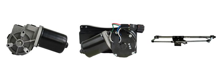 The most important wiper component for reliability is the motor. If it fails or underperforms, all improvements to the rest of the system don't matter. - Photo: AM Equipment