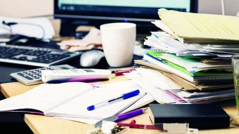 Digitizing documents makes it easier to automate processes and helps clear up the paper clutter.