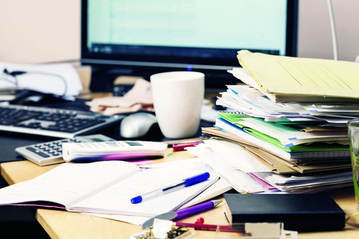 Digitizing documents makes it easier to automate processes and helps clear up the paper clutter.  - Photo: Gettyimages.com/SilviaJansen