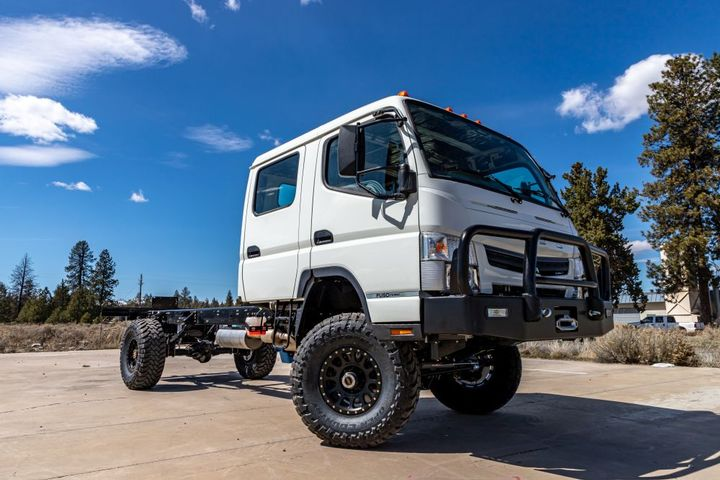 The dual cab model provides the capability and people capacity needed to get teams where they need to be safely and comfortably. - Photo: EarthCruiser