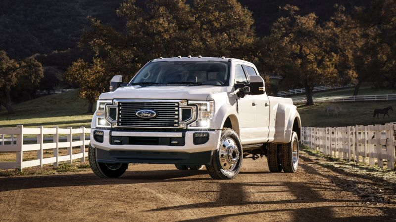 The Ford Super Duty pickup truck lineup covers the F-250, F-350, and F-450. The trucks are...