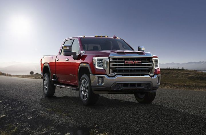 GMC Sierra 2500HD/3500HD - Photo: GMC