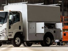 IsuzuN-Series gas trucks are built for the long haul and can be retrofitted for compressed...