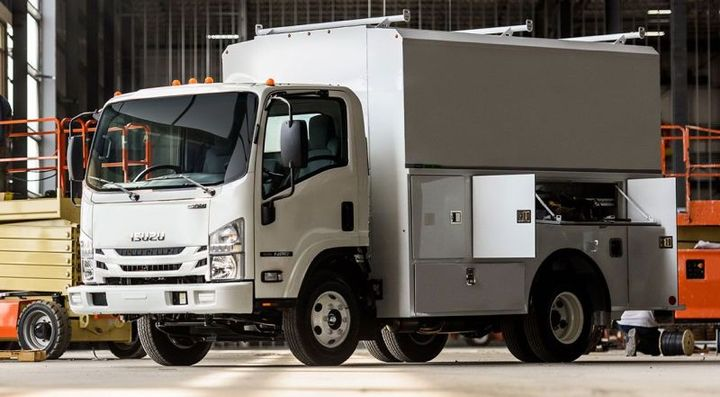 Isuzu N-Series Gas  - Photo: Isuzu