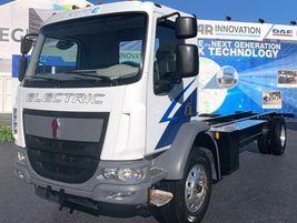 Kenworth K270E Class 6 and K370E Class 7 battery-electric trucks feature high-density battery...