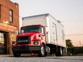The all-new Mack Trucks medium-duty MD series is available in three models —MD6, MD6 Low...