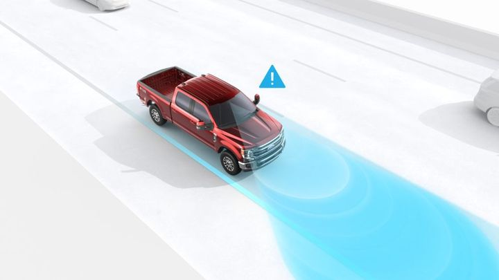 Lane Keeping Alert systems help a driver stay in their lane and warns if they are veering too far to the left or right.  - Photo: Ford Motor Co.