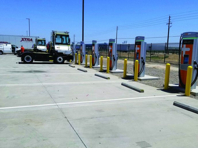Infrastructure is one of the biggesthurdles for fleets looking to electrify,but infrastructure is growing and expertsare there to help. - Photo: ChargePoint