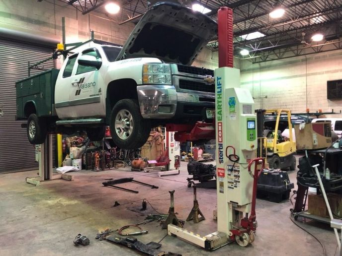 When purchasing a truck lift, first, you need to evaluate your fleet. Once your fleet is evaluated, next evaluate the tasks to be completed on the lifts. - Photo: Stertil-Koni