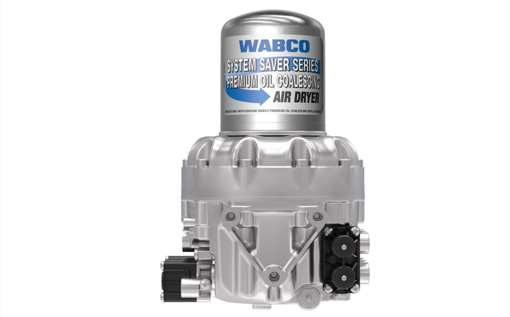 WABCO System Saver - Air Dryer 1200 plus air dryer with WABCO System Saver Series coalescing air dryer cartridge. - Photo: ZF