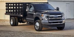 The Ford F-600 delivers the capability of a Class 6 truck in a familiar and easy-to-manage Class 5 Super Duty package.