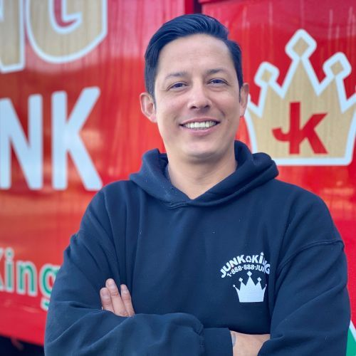 Julian Torres is director of operations for Junk King. - Photo: Junk King