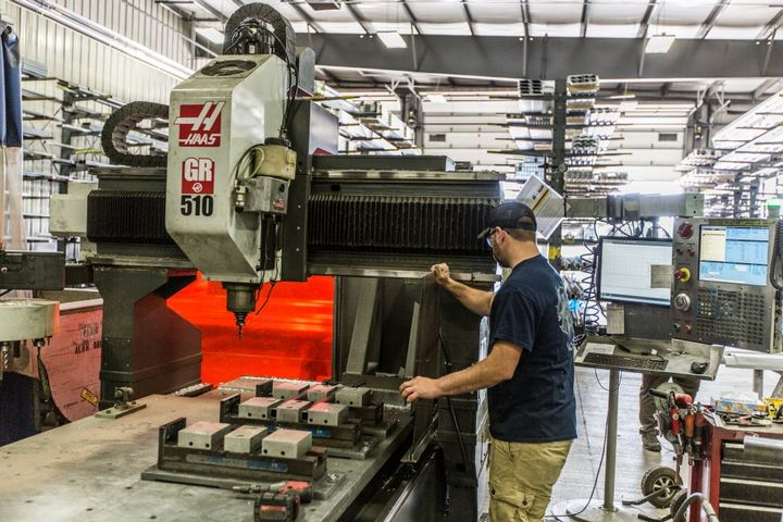 Where a standard stock body can potentially cut lead times to 10 days, highly customized truck bodies can take multiple weeks to complete. Order sizes and market influences can also affect lead times. - Photo: Marion Body Works