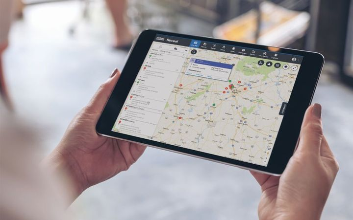 Planning their routes ahead is important to many fleets, especially those with heavy-duty or HazMat units. - Photo: Verizon Connect