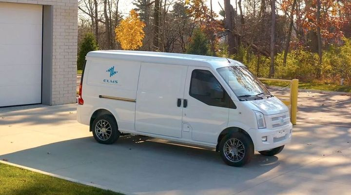 The Class 1 urban delivery vehicle from Electric Last Mile Solutions (ELMS) is expected to have a range of 150 to 200 miles and a cargo capacity of 170 cu.-ft. Product launch is expected in the third quarter of 2021. - Photo: ELMS