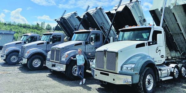 With four Kenworth T880s Super Solos (and two more on the way), the company has a single...